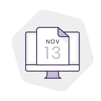 當客人在網上完成預約後,系統會即時發送電郵確認通知。預約日子來臨之前,客人亦會收到電郵通知出席日子和時間。