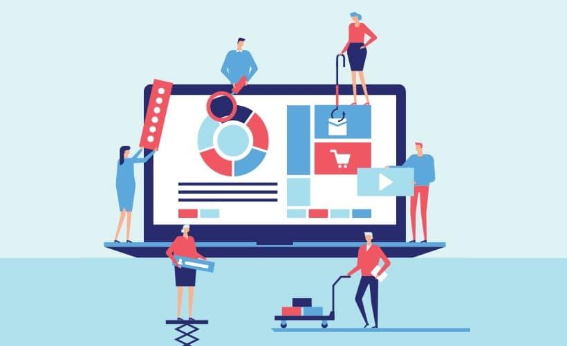 網店平台是為了方便不會製作網店的大小商戶及個人客戶而設,網店平台的特性是以方便為主,不同的網店平台公司都會提供一些預設的網店模板給用家選擇,方便了很多不會設計、編程的用家。另外,網店平台會串連一些第三方支付網關