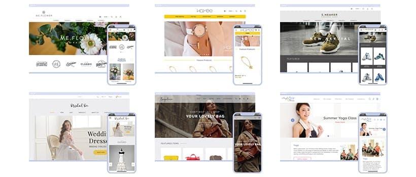 【新登場】                     Storeberry全新網店影片主題設計模板上線,令您的網店品牌形象別樹一格更亮眼