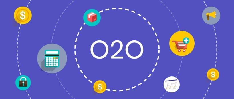 O2O (Online to Offline) 即是將線上行銷帶動至線下消費。