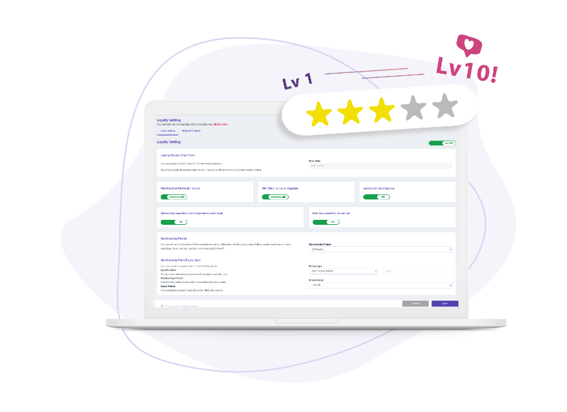 CRM and Loyalty system to improve customer repeat purchase rate