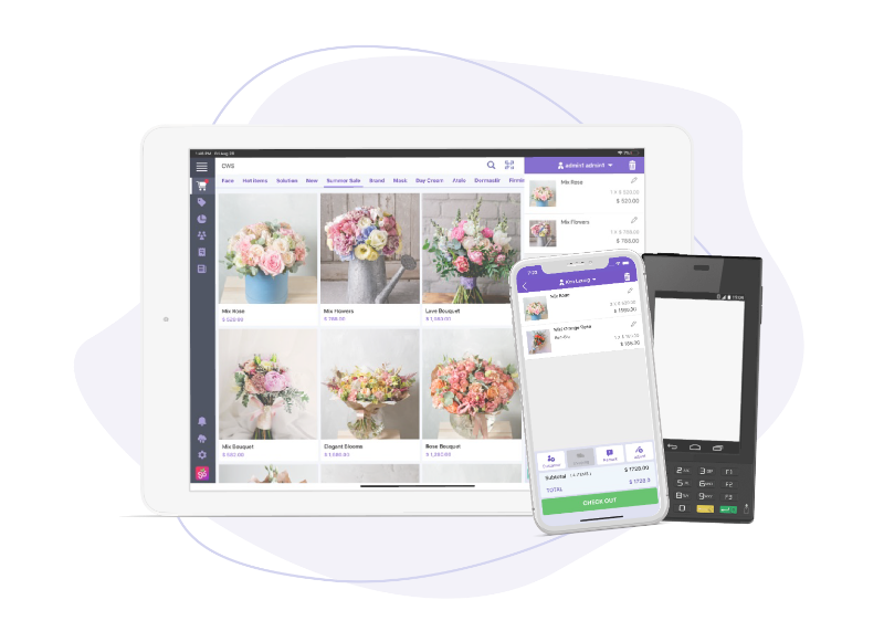 Cloud POS system. Fully automated. Reducing operating costs.